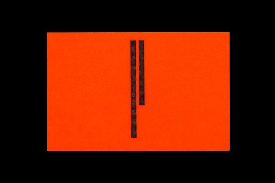 02-Simon-Pengelly-Fluorescent-Orange-Business-Card-by-Spin-on-BPO