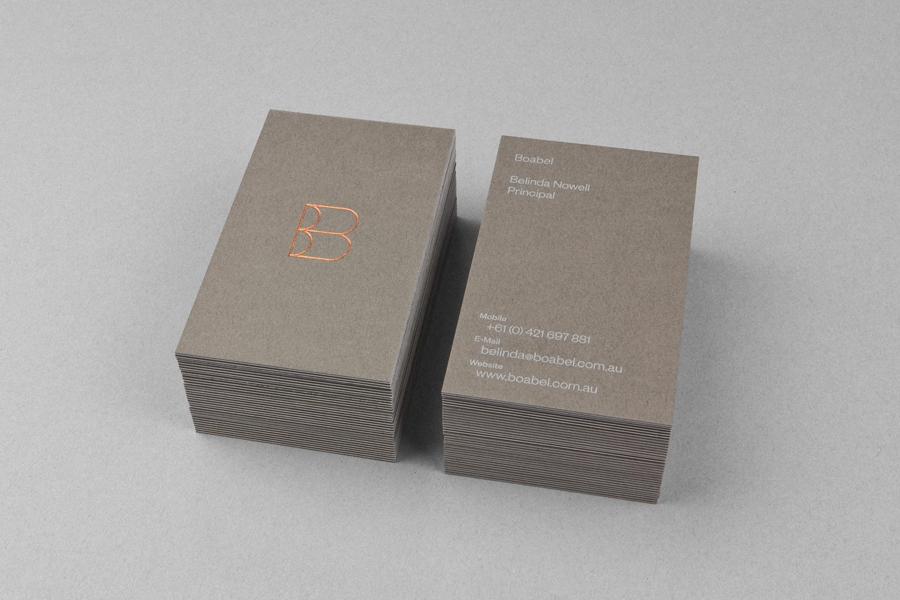 03_Boabel_Business_Card_Copper_Foil_on_BPO