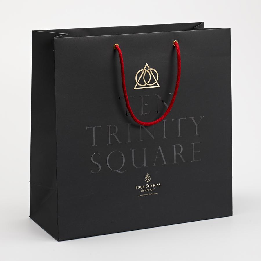 03-Ten-Trinity-Square-Logo-and-Gold-Foiled-Bag-by-Pentagram-on-BPO