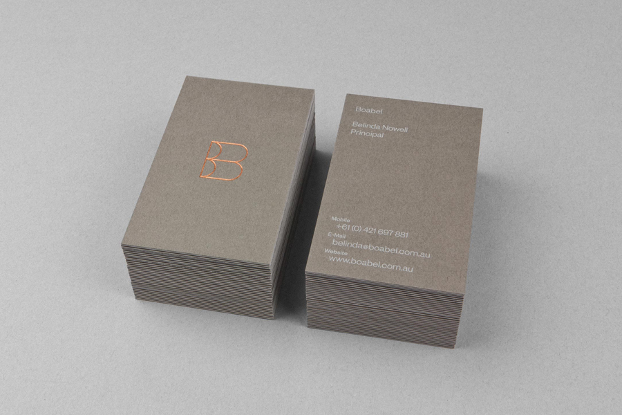 03_Boabel_Business_Card_Copper_Foil_on_BPO